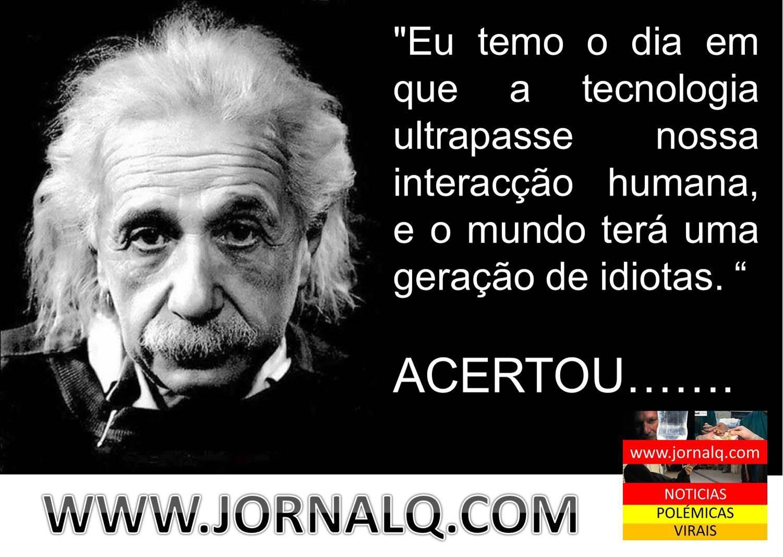 O Medo De Albert Einstein Notícias Soltas