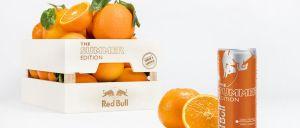 A 'família_ Red Bull Editions acaba de ganhar mais um elemento. A lata laranja junta-se às lima, tropical e frutos vermelhos.