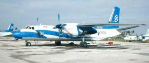 Avião pertence à companhia aérea Aerogaviota.