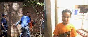 A família do menino de seis anos apelou para que este fosse devolvido mas acabou por ser encontrado morto dentro do carro, que foi abandonado.