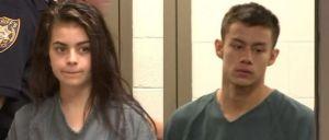 Casal de adolescentes foi apanhado pela polícia depois de tentar matar outra pessoa.