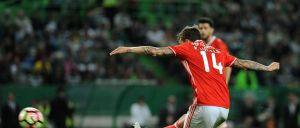 Livre do sueco valeu o empate às águias frente ao Sporting.