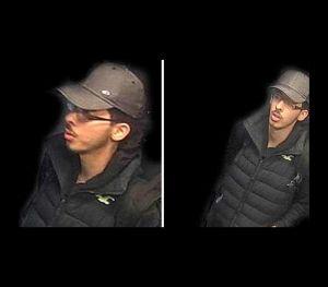 Polícia britânica divulga as últimas imagens, captadas pelas câmaras de segurança, de Salman Abedi, momentos antes de este se fazer explodir no Manchester Arena.