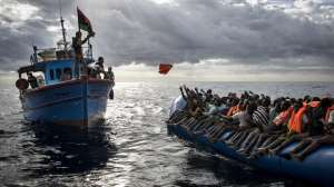 naufrágio no Mediterrâneo