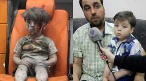 Omran Daqneesh ficou conhecido em agosto do ano passado, visto como um símbolo do sofrimento de Alepo.