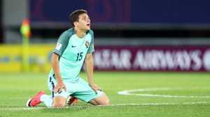Seleção Nacional foi derrotada na 'lotaria' das grandes penalidades.