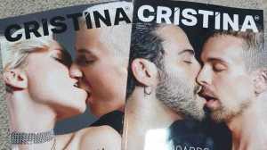 A apresentadora esteve no Jornal das 8 da TVI a falar sobre a nova capa da sua publicação, que luta contra o preconceito associado à homossexualidade.